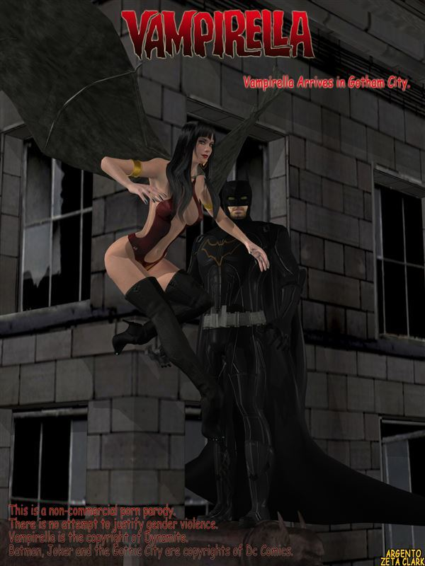 Vampirella Arrives in Gotham City by Argento
