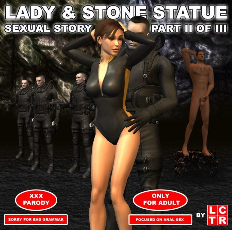 Lady & Stone Statue – Sexual Story Part II of III by LCTR
