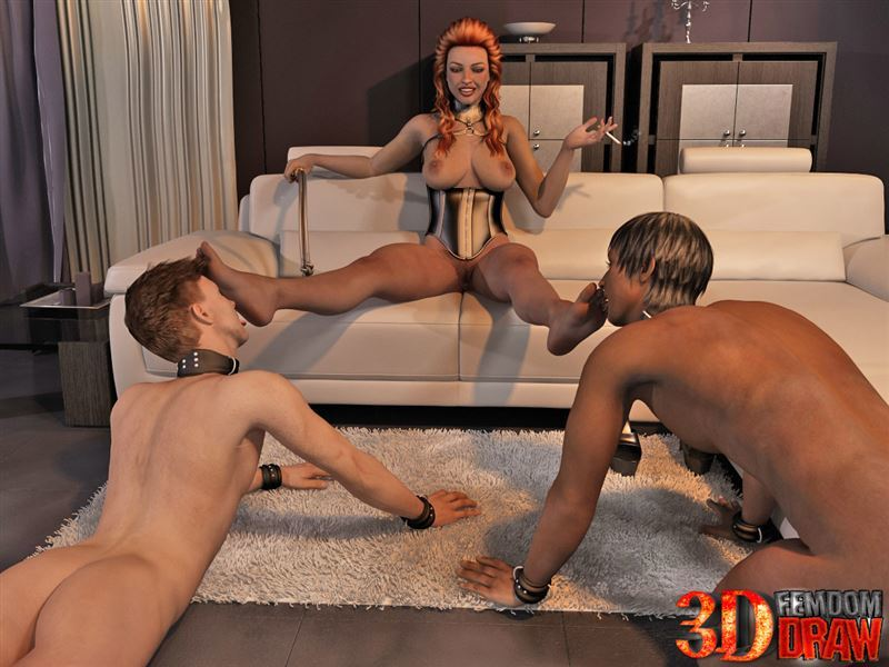 3DFemdomDraw – Mistress Woman 1