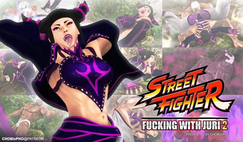 STREET FIGHTER / FUCKING WITH JURI 2 [CHOBIxPHO]
