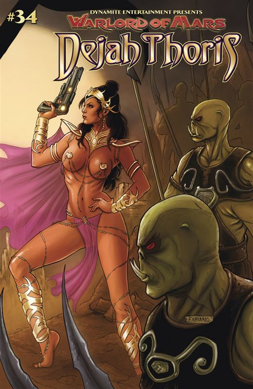 Warlord of Mars Dejah Thoris 34 by Renaut