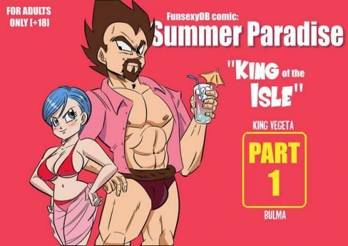FunsexyDB – Summer Paradise – King Of The Isle (Dragon Ball Z)