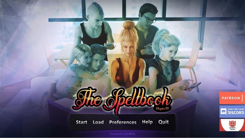 The Spellbook – Version 0.4.5.0 + Walkthrough by NaughtyGames Win64/Win32/Mac/linux/Android