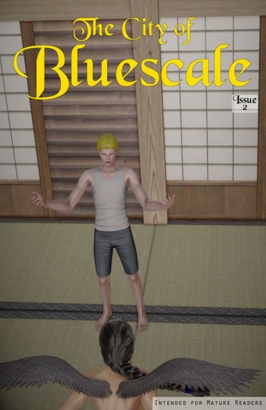 Shane Ivins – Bluescale Chapter 3 (City of Bluescale Issue 2, June 2019)
