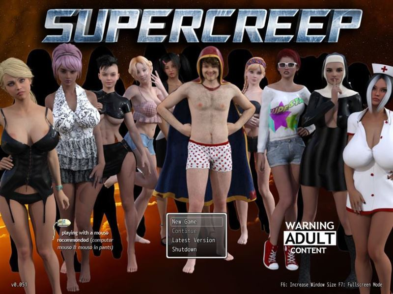 SuperCreep – Version 0.052 by Boner Games