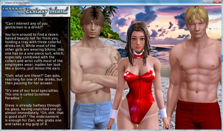 Interns of Ecstasy Island by UsagiTripleSix Version: 0.200