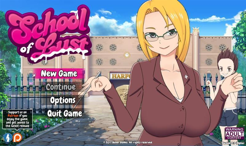 School of Lust – Version 0.3.4c + Save by Boner Games