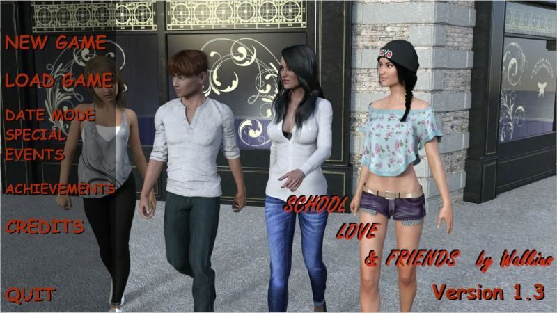 Walkius – School, Love and Friends Version 1.5 + Guide + Cheat Mod