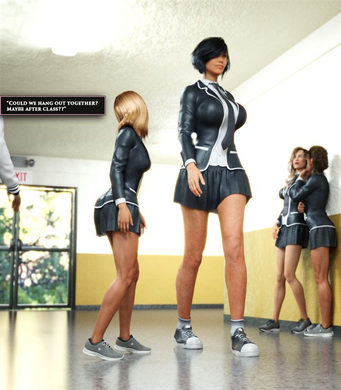 FaterGD – Donating Height to Goddess Ch. 6: A Special Day In School