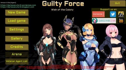Team Guilty Force – Guilty Force: Wish of the Colony v0.12a Win/Mac/Apk