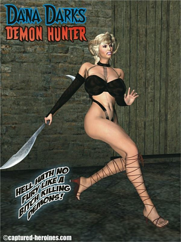 Captured Heroines - Dana Darks - Demon Hunter
