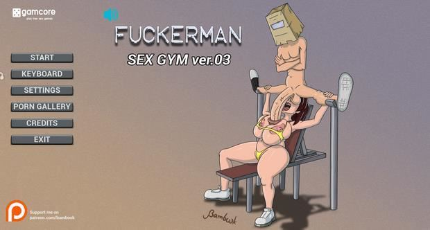 Fuckerman: Sex gym v0.3 Win32/64 by Bambook