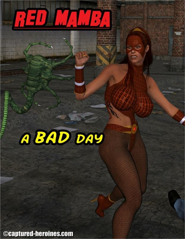 Captured Heroines – Red Mamba – A bad day 1-5