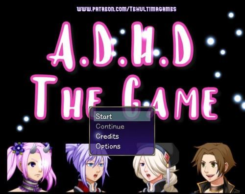 A.D.H.D. The game by Teh ultima games