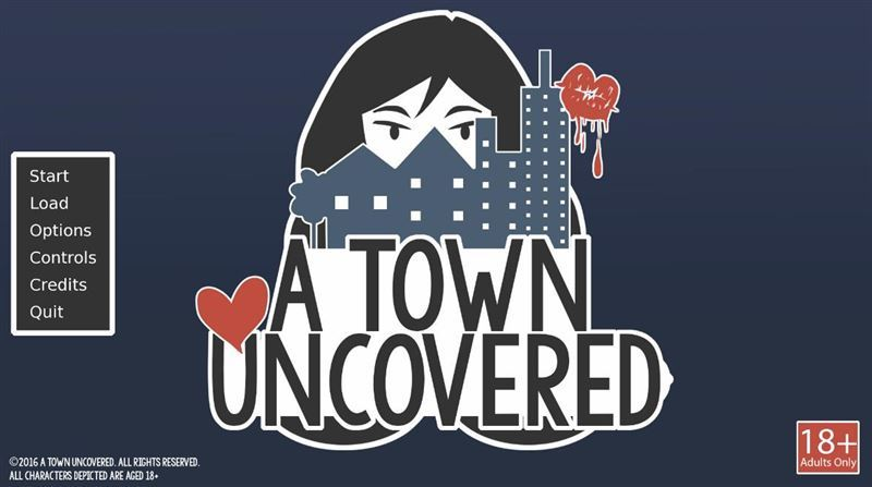 A Town Uncovered Version 0.24b+Incest Patch by Geeseki+Compressed Version