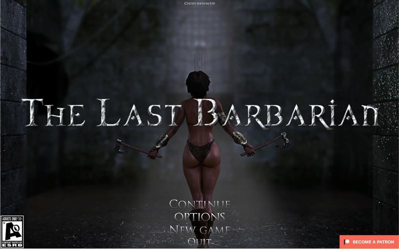 The Last Barbarian – Version 0.8.1 by Viktor Black