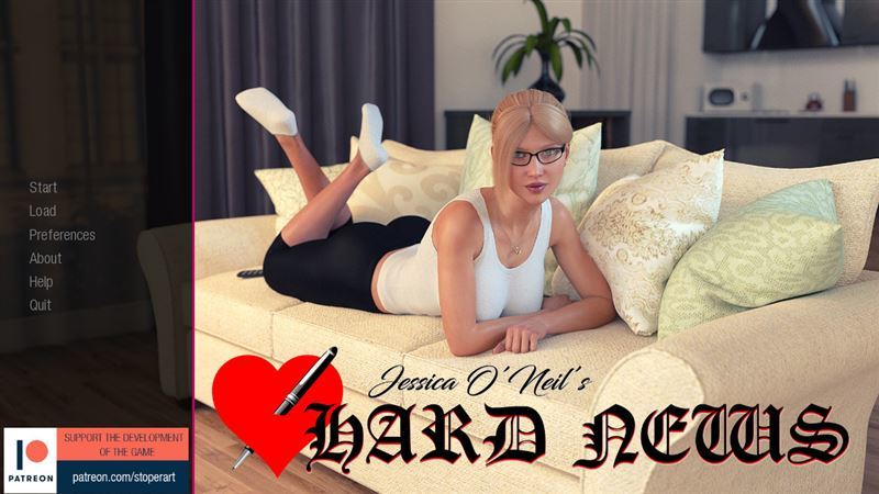 Jessica O'Neil's Hard News – Version 0.25 Final + Full Save + Compressed Version by StoperArt Win/Mac/Android