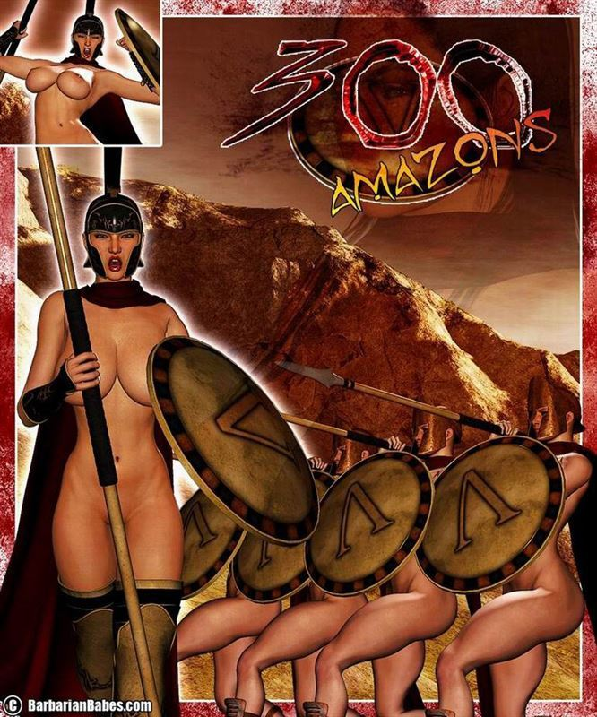 [Barbarianbabes] 300 Amazons – Queen of Sparta
