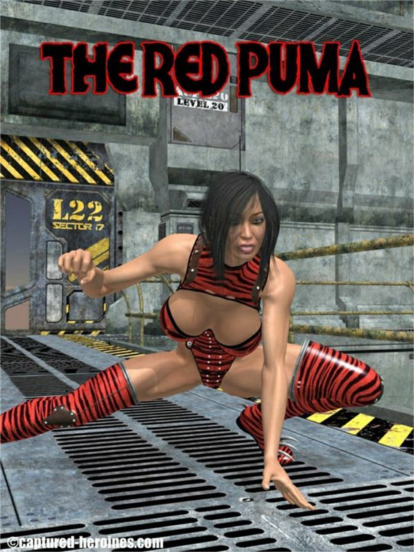 Captured Heroines – The Red Puma 1-2