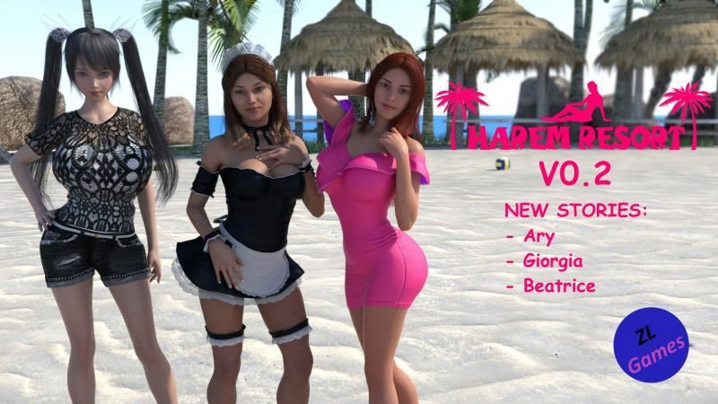 Harem Resort – Version 0.2 + CG + Walkthrough by ZL-Games