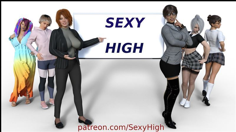 Sexy High – Version 0.11 by KJ Studios 2020 Win/Mac/Android