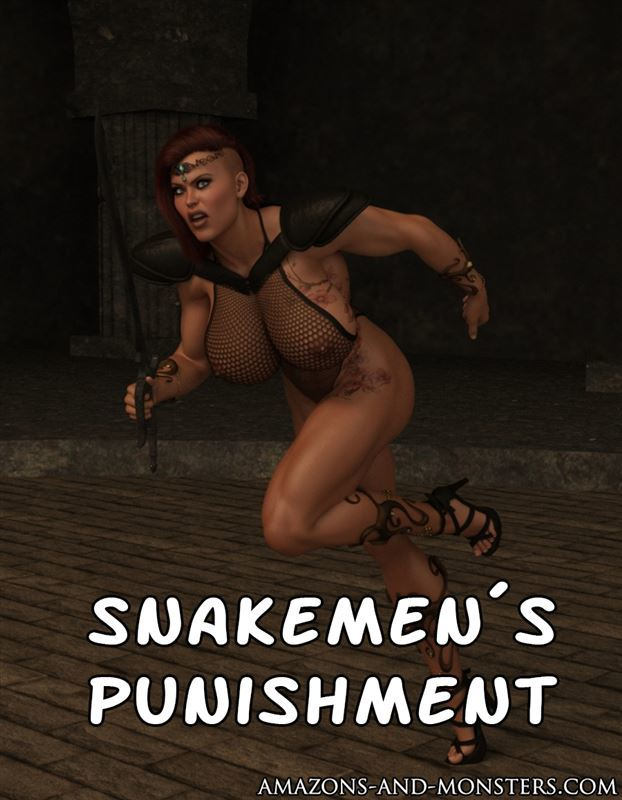 Amazons-and-monsters – Snakemen's punishment Part 5