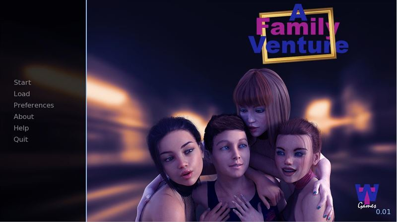 A Family Venture – Version 0.04f Xmas + Fix + Incest Patch + Compressed Version + CG + Save by WillTylor Win/Mac
