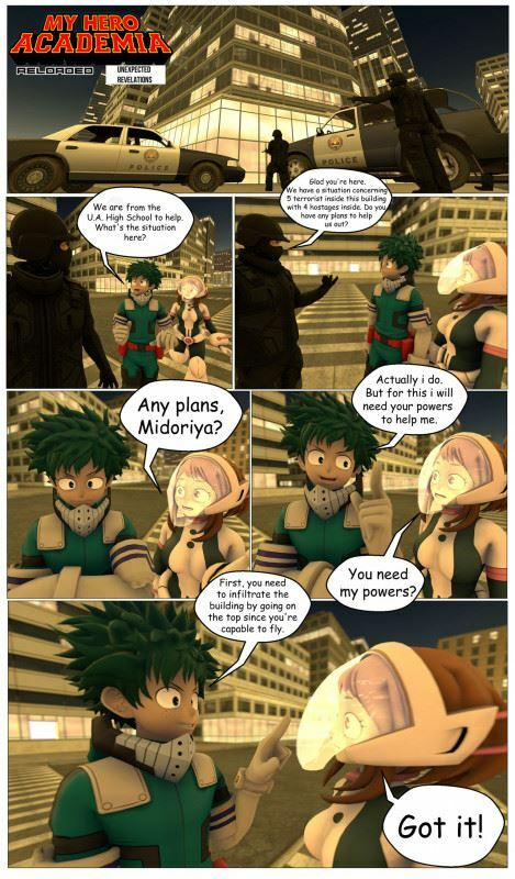 Kyosaeba – My Hero Academia Reloaded: Unexpected Revelations (Mrkyo)