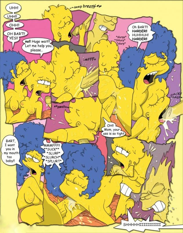 Fluffy – Simpcest 1 – 2 ( The Simpsons )