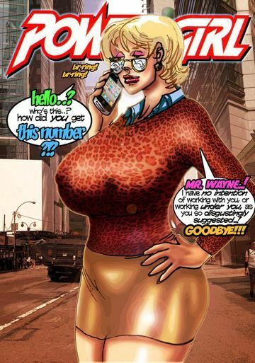 SuperPoser – Milk Maid Of Steel (Justice League)