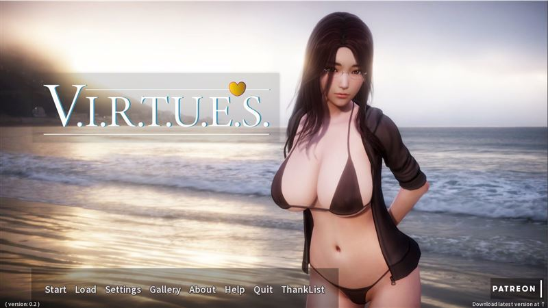V.I.R.T.U.E.S – Version 0.4c + Compressed Version + Save by NoMeme Win/Mac/Android