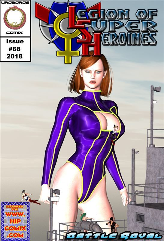 Uroboros – Legion of Superheroines 68