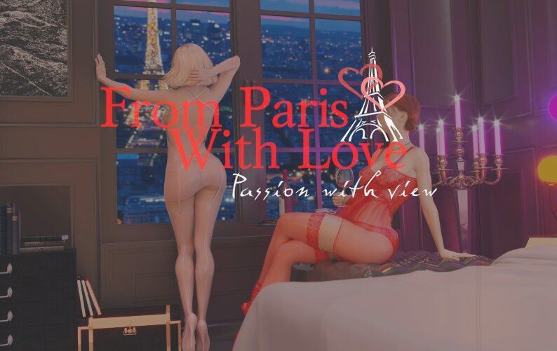 From Paris With Love – Passion With View by Futanarica_animation