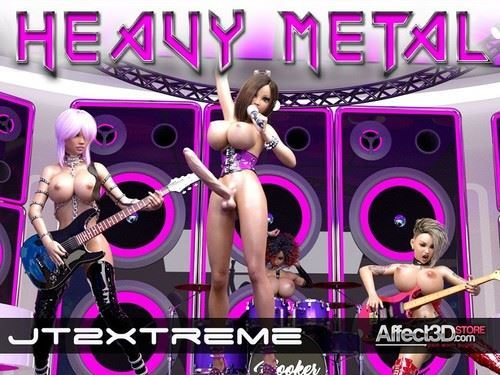 FutaErotica – Heavy Metal by JT2XTREME_animation