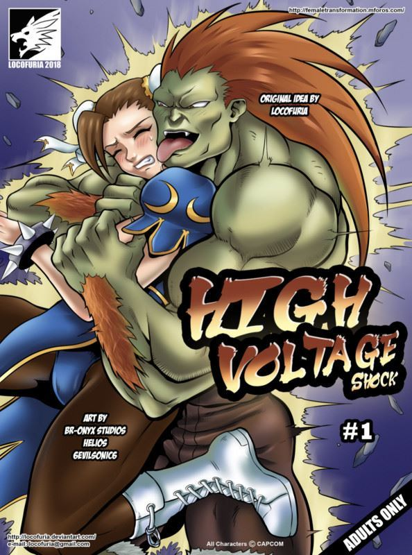 [Locofuria, 6evilsonic6] High Voltage Shock 1-2 (Street Fighter)