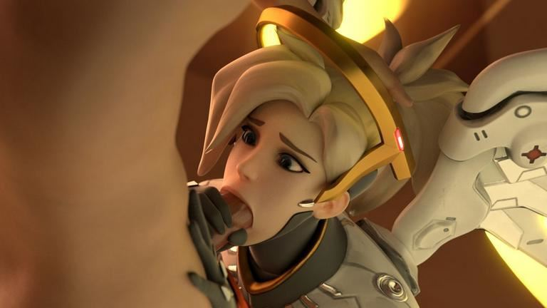 Overwatch Porn Artwork By Blender Maker
