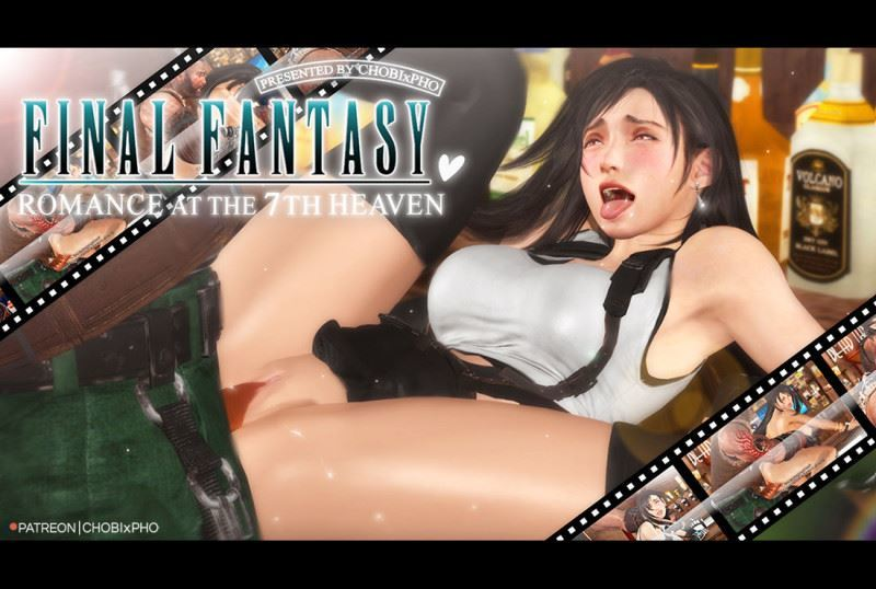 CHOBIxPHO – FINAL FANTASY VII / TIFA x BARRET: ROMANCE AT THE SEVENTH HEAVEN