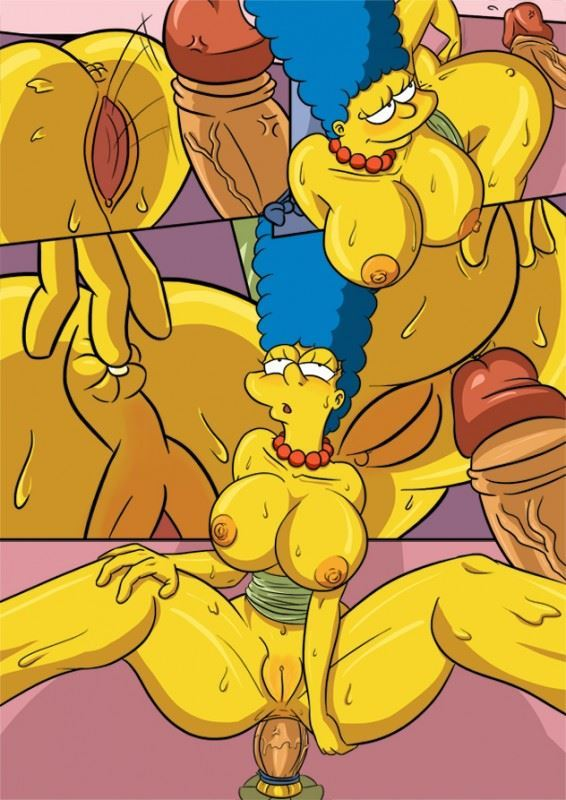Marge VS Glory Hole Monster Cock