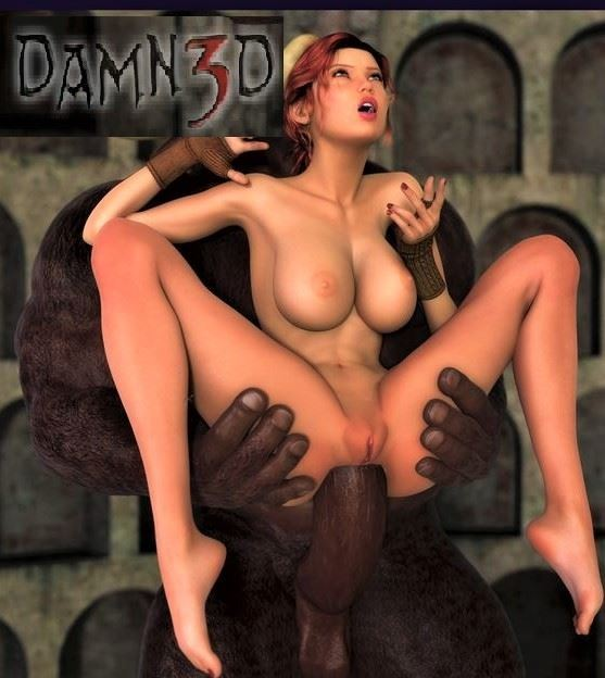 Damn3d – Double penetration from monster cocks