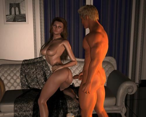 Maya meets Mave again – Romantic Evening 2 by Cosmics3DAngels