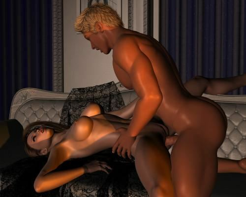 Maya meets Mave again – Romantic Evening 1 by Cosmics3DAngels