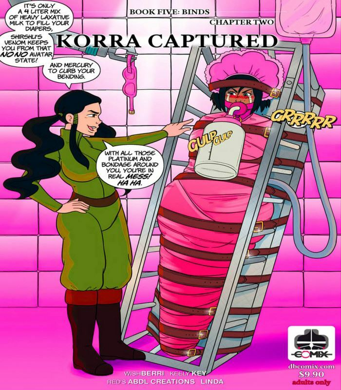 DBComix – Book Five: Binds 2 – Korra Captured