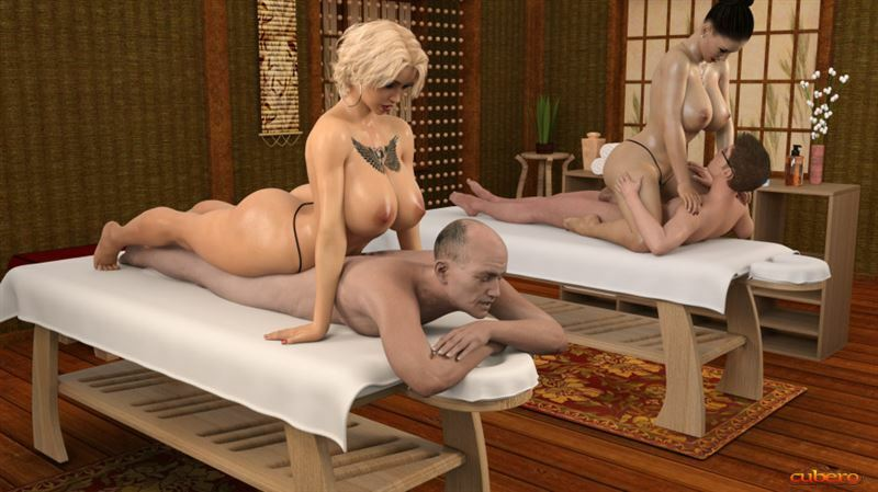 Nicole's high standing oriental style massage parlor by Cubero
