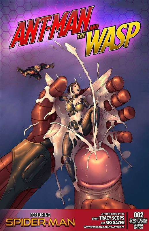 Ant-Man And The Wasp 1-2 by Tracy Scops
