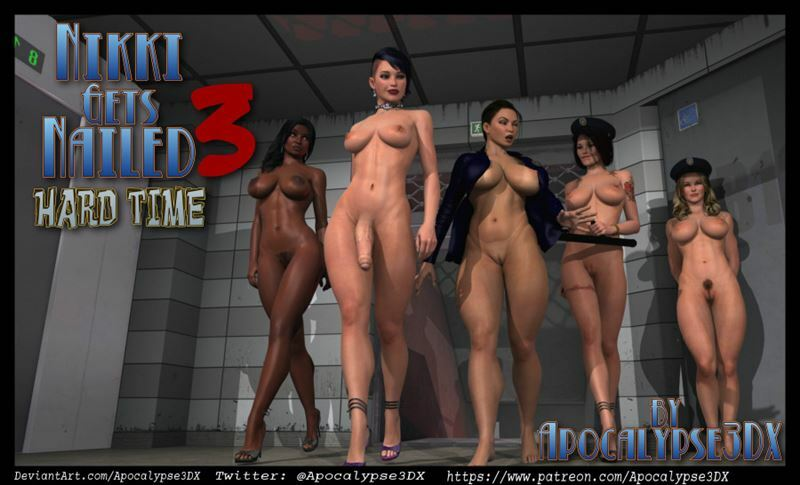 Apocalypse3DX – Nikki Gets Nailed Part 3 – Hard Time